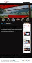 Visión de la web completa de Soltec - Sistemas de Protección Solar