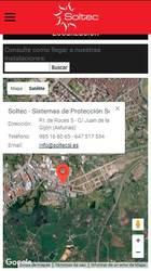 Versión móvil de Web de Soltec - Sistemas de Protección Solar