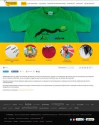Visión de la web completa de Pramoba