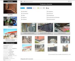 Web de Metalicas De Mareo