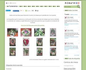 Web de Flores Lupe Gijon