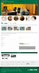 Visión de la web completa de Inmobiliaria Geykas