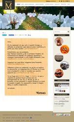 Visión de la web completa de Maestras de ceremonias