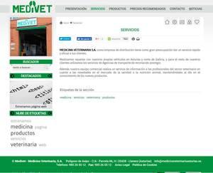 Web de Medicina veterinaria Asturias