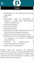 Versión móvil de Web de Pablo asesor