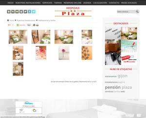 Web de Hostal Residencia Plaza
