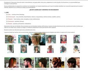 Web de Bertony estilistas