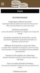 Versión móvil de Web de Sidrería/Restaurante El Tonel