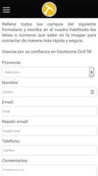 Versión móvil de Web de Geotecnia Civil 98
