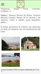 Versión móvil de Web de Hotel Rural La Corolla