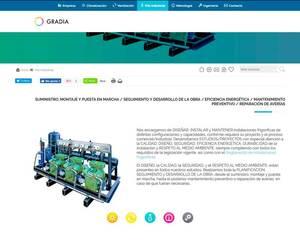 Web de Gradia Ingeniería