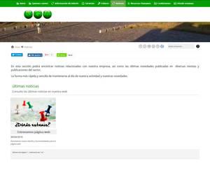 Web de Norgestión Asesores